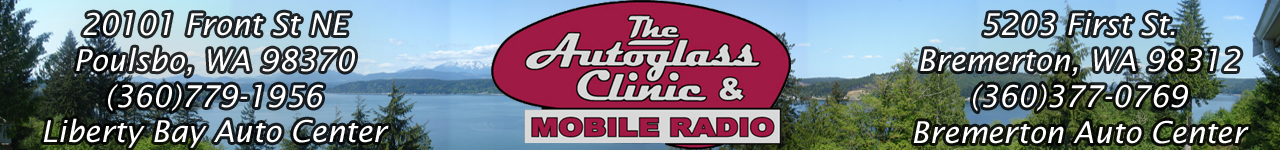 Autoglass clinic and mobile radio